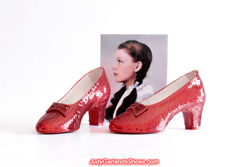 High quality ruby slippers in size 5B