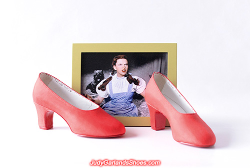 Judy Garland as Dorothy's size 5B pumps