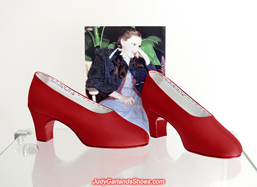 Judy Garland's size 5B handmade shoes