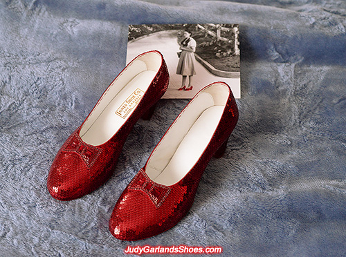 US men's size 10 high quality ruby slippers