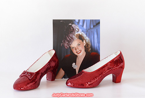 US women's size 8 ruby slippers nearly finished