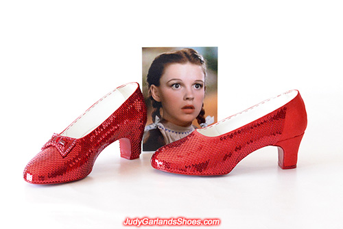 US women's size 9 ruby slippers almost done
