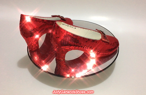 Video of ruby slippers made in May, 2020