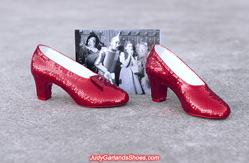 Close to finishing size 6 ruby slippers