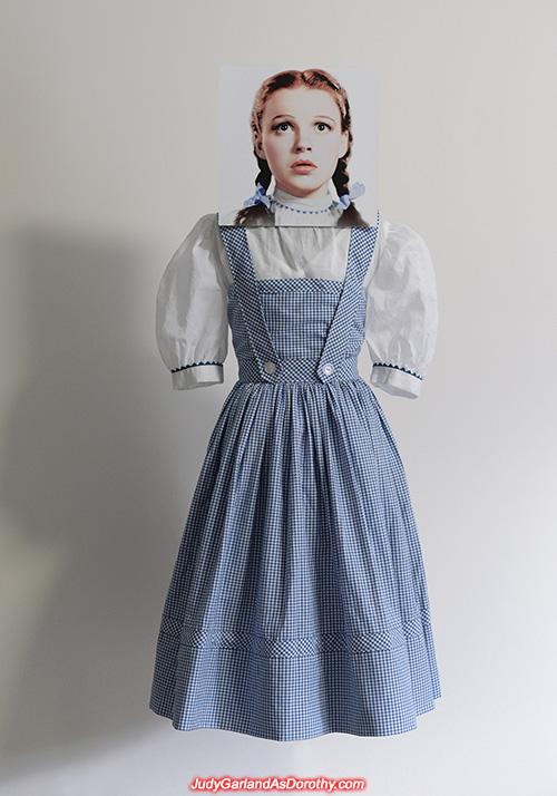 Exact reproduction gingham pinafore dress