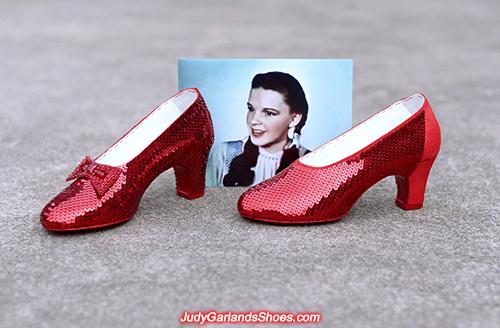 Size 6 ruby slippers in progress, June 2021