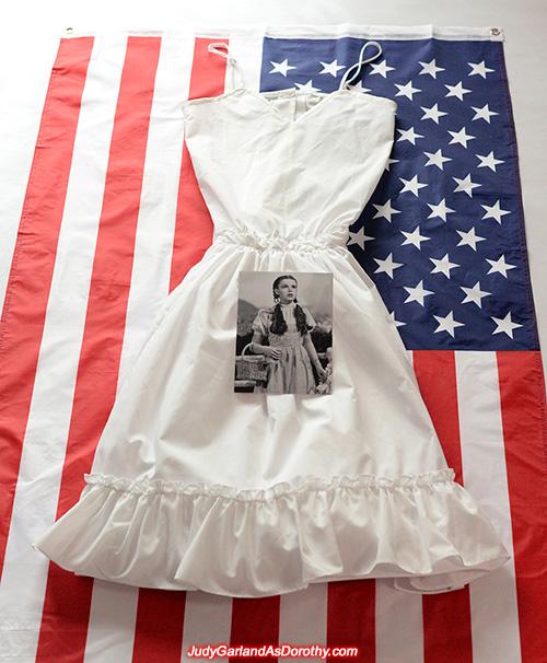 White petticoat slip worn by Judy Garland as Dorothy